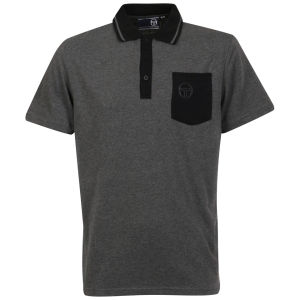 Sergio Tacchini Men's Phillips Polo-Shirt - Grey Marl