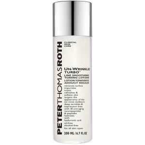 Peter Thomas Roth Un-Wrinkle Turbo Line lozione tonificante ammorbidente antirughe