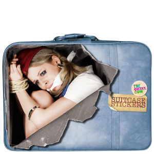 Suitcase Stickers - Air Hostess