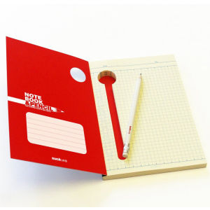 Mini Notebook and Pencil