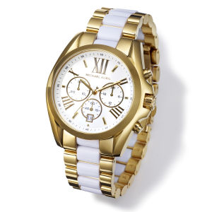 MICHAEL MICHAEL KORS Watch - Gold/White