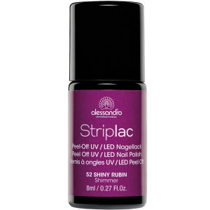 Striplac Shiny Rubin UV Nail Polish (8ml)