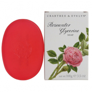 Crabtree & Evelyn Rosewater Glyserin Soap (100 g)