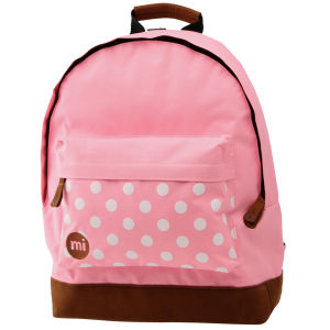 Mi-Pac Polkadot Backpack - Pink