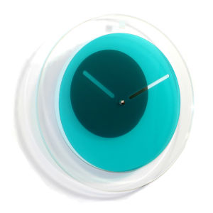 Orbit Clock - Teal