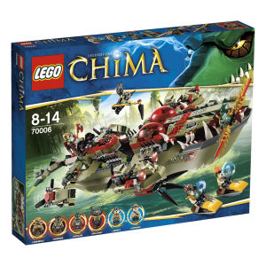 LEGO Legends of Chima: Craggers Command Ship (70006)