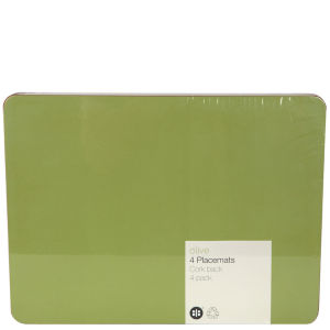 Olive Set of 4 Placemats