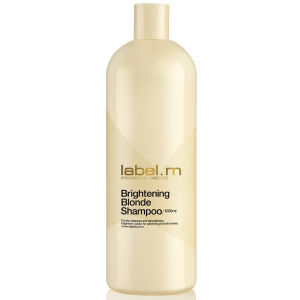 label.m Brightening Blonde Shampoo (1000 ml) - (värt 42,50 £)