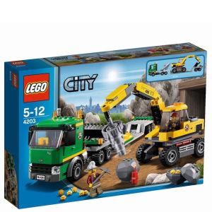 LEGO City: Excavator Transport (4203)