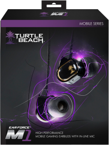 Turtle Beach: M1 Mobile Gaming Earbuds (PS Vita/PSP and Nintendo NDS/3DS)