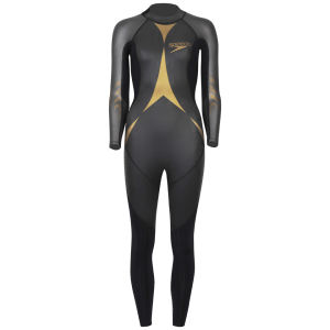 Speedo Women's Triathlon Thin Pro Wetsuit - Black/Gold