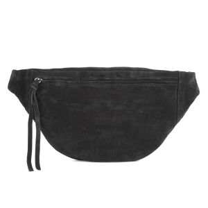 Yvonne Koné Women's Oversized Bum Bag - Suede Black