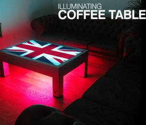 Union Flag Illuminating Coffee Table