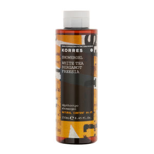 KORRES Natural White Tea, Bergamot and Freesia Shower Gel 250ml