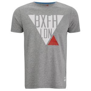 Boxfresh Herren Lacuna Triangle Graphic T-Shirt - Grau