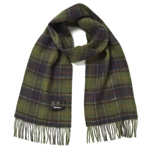 Barbour Double Faced Check Scarf - Classic Tartan