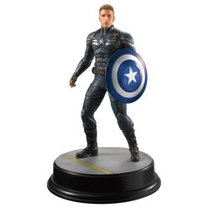 Dragon Action Heroes Marvel Captain America Winter Soldier Stealth Suit 1:9 Scale Vignette