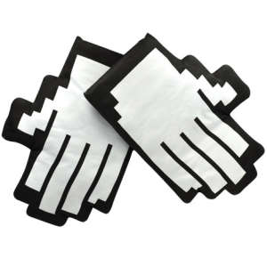 Pixel Hand Oven Gloves