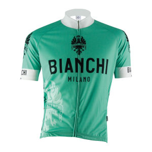 Bianchi Milano Performance Edoardo1 SS FZ Cycling Jersey