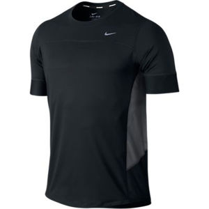 Nike Men's Technical SS Running Tee - Black/Anthracite/Black/Reflective