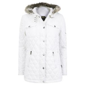 Le Breve Women's Gossip Hooded Jacket - White