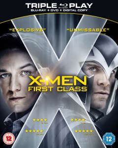 X-Men: First Class - Triple Play (Includes DVD, Blu-Ray and Digital Copy)