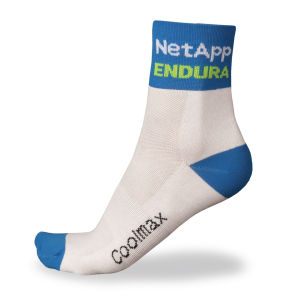 Team NetApp Endura Replica Socks - White