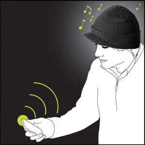 iMusic Peaked Hat - Wireless
