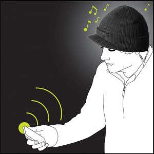 iMusic Peaked Hat - Wireless