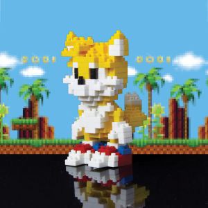 Tails Pixel Bricks