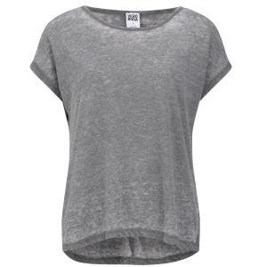 Vero Moda Women's Moog Slouch T-Shirt - Grey