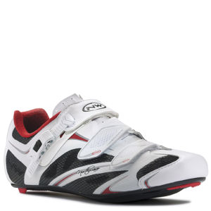 Northwave Starlight Srs Cycling Shoes - White/Black/Red