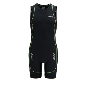 Zoot Men's Performance Triathlon Racesuit - Black/Green Flash