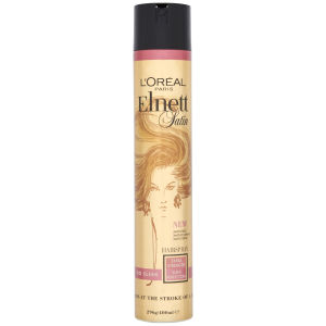 L'Oreal Paris Elnett Satin Hairspray - So Sleek Extra Strength (400ml)