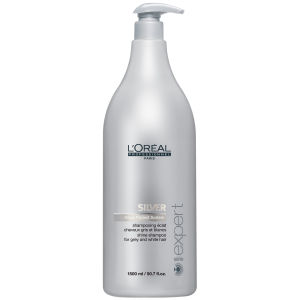 L'Oreal Professionnel Serie Expert Silver Shampooing (1500 ml) avec pompe