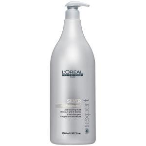 L'Oreal Professionnel Serie Expert Silver Shampooing (1500 ml) avecpompe