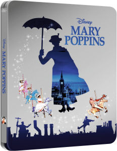 Mary Poppins - Zavvi Exclusive Limited Edition Steelbook (The Disney Collection #15) (UK EDITION)