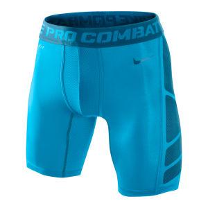 Nike Men's Hypercool Compression 6 Inch Shorts 2.0 - Vivid Blue