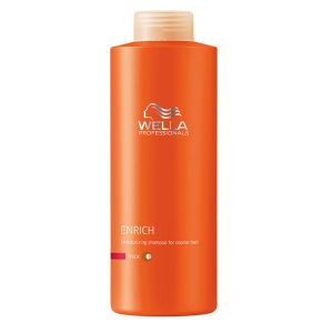 Wella Professionals Enrich Coarse Shampoo 1000ml (Worth £38.80)