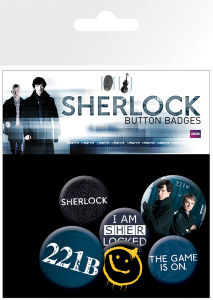 Sherlock Mix - Badge Pack
