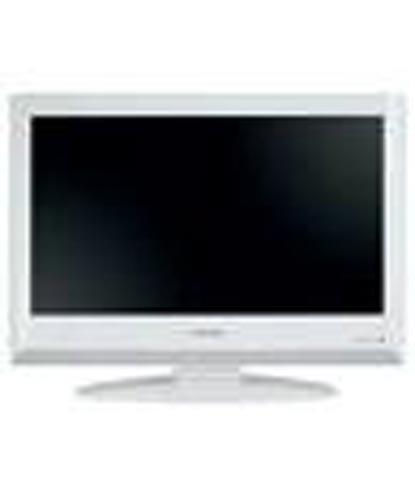 TOSHIBA 19 Inch LCD TV IN GLOSS WHITE - 19AV616DB
