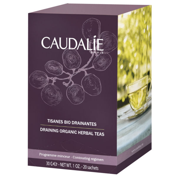 Caudalie Draining Organic Herbal Tea (20 Beutel)