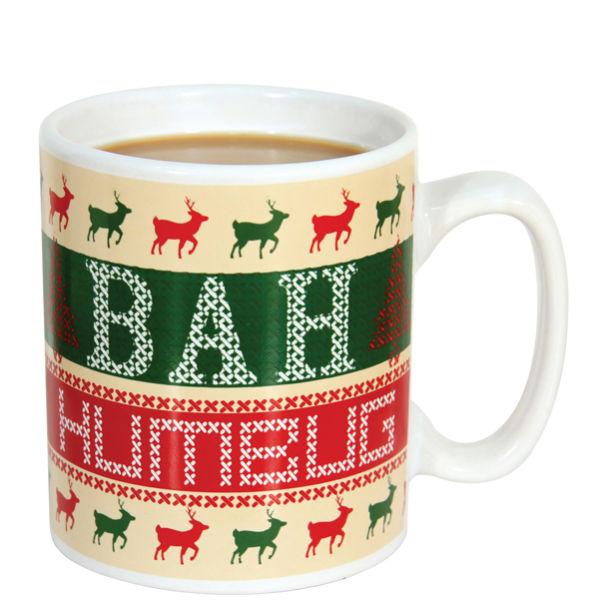 Bah humbug mug iwoot for Bah humbug door decoration