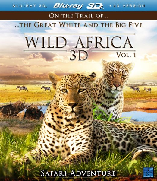 Wild Africa 3D - Part 1