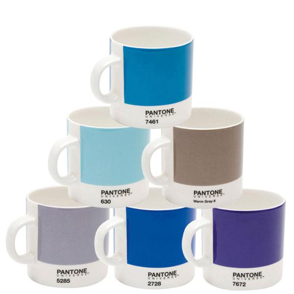 Pantone Tassen set aus 6 espresso tassen pantone universe blau sowia