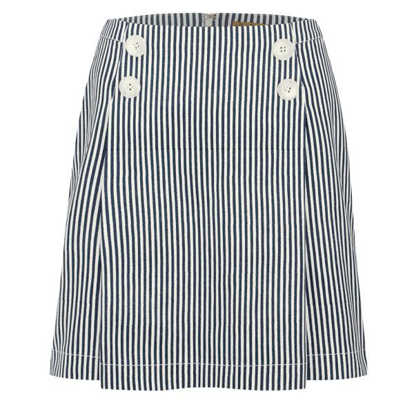 Peter Jensen Women's Sailor Skirt - Navy Candy Stripe