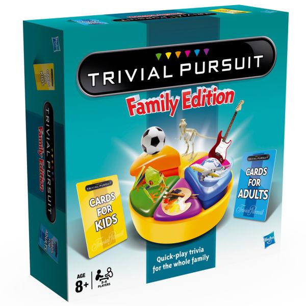 trivial pursuit family edition toys zavvi. Black Bedroom Furniture Sets. Home Design Ideas