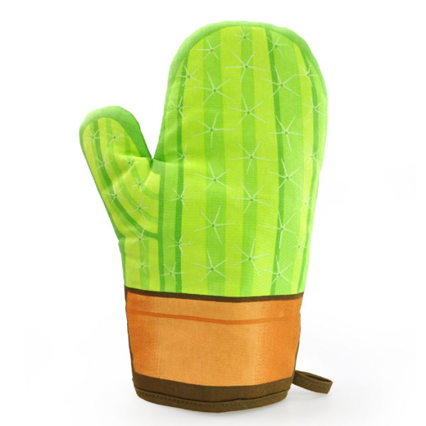 Cool Cactus Oven Glove Iwoot