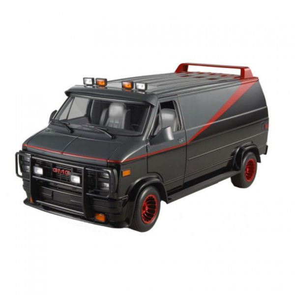 hot wheels heritage collection a team van 1 18 scale model. Black Bedroom Furniture Sets. Home Design Ideas