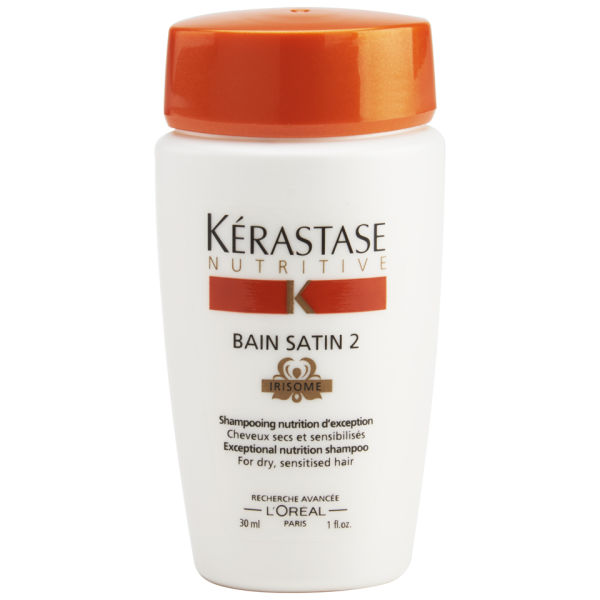 K rastase nutritive bain satin 2 1oz free gift free for Kerastase bain miroir shine